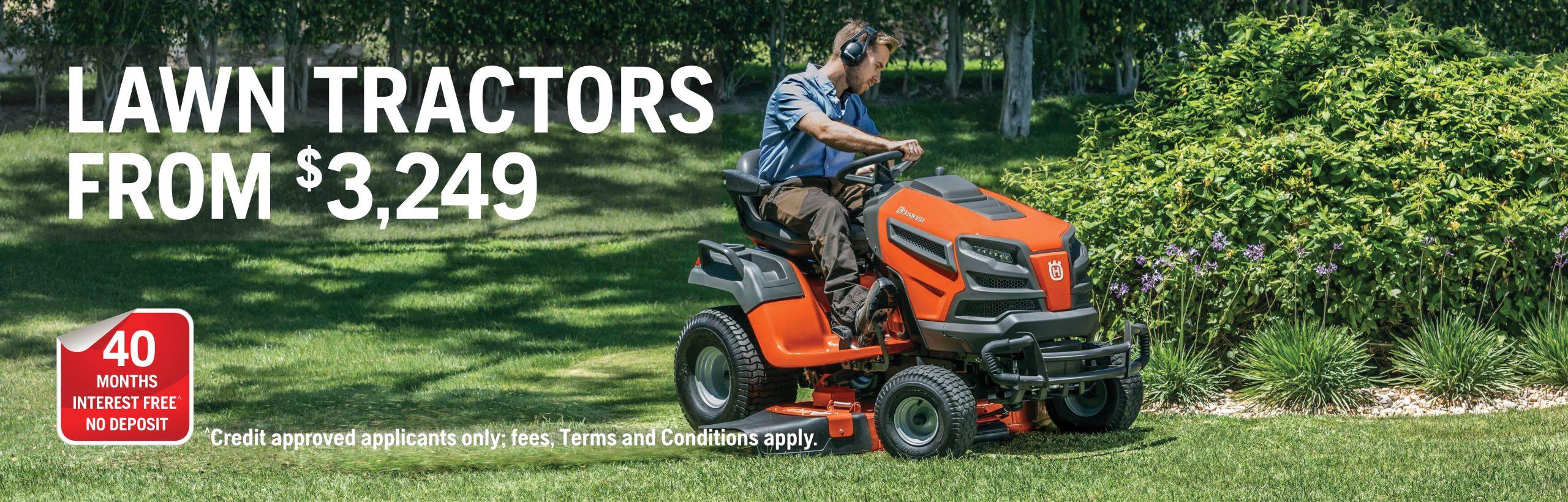 Spring 2020 - Lawn tractors